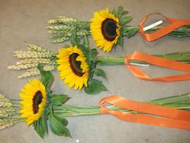 Raumdekoration Sonnenblumen 2