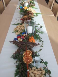 Tischdekoration Samichlaus 1