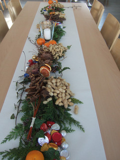 Tischdekoration Samichlaus 2
