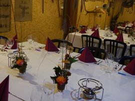 Tischdekoration Advent