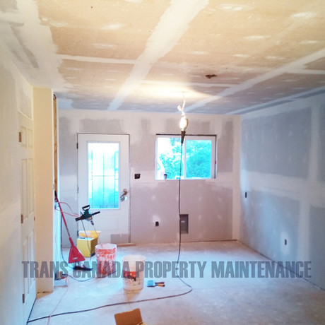 Drywall, Taping, Trim, Ceiling, Walls and Trim Paint