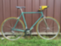 lb lightning cyclery auburn restored road bike