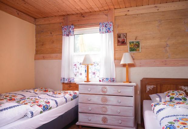 Pokój dla dwóch dorosłych z dzieckiem