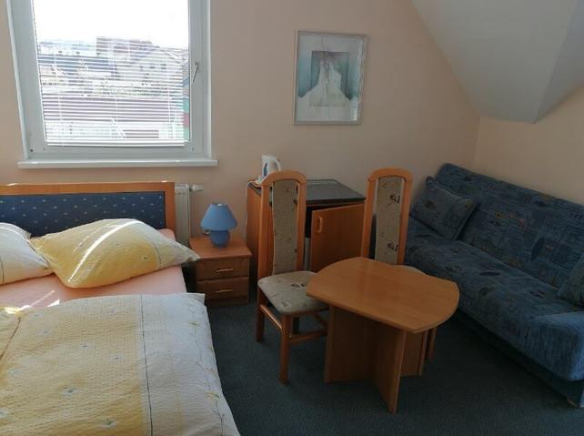 Pokój trzyosobowy z balkonem