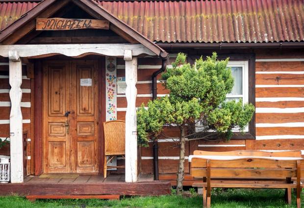 Michałek - duży dom drewniany