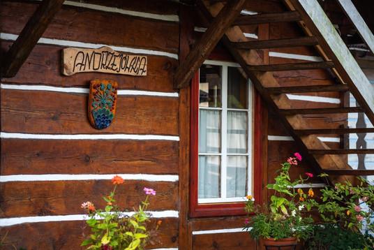 Drewniany dom Andrzejówka