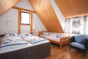 Sypialnia w Rudniku