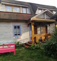 Rudnik - duży drewniany dom