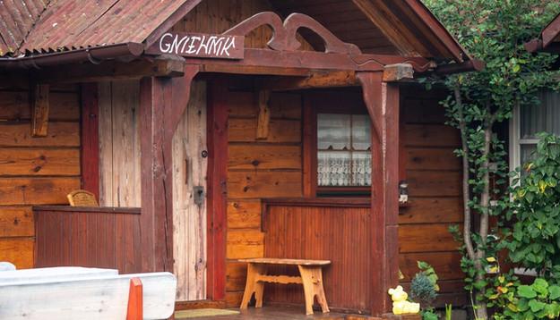 Gniewnik - drewniany dom