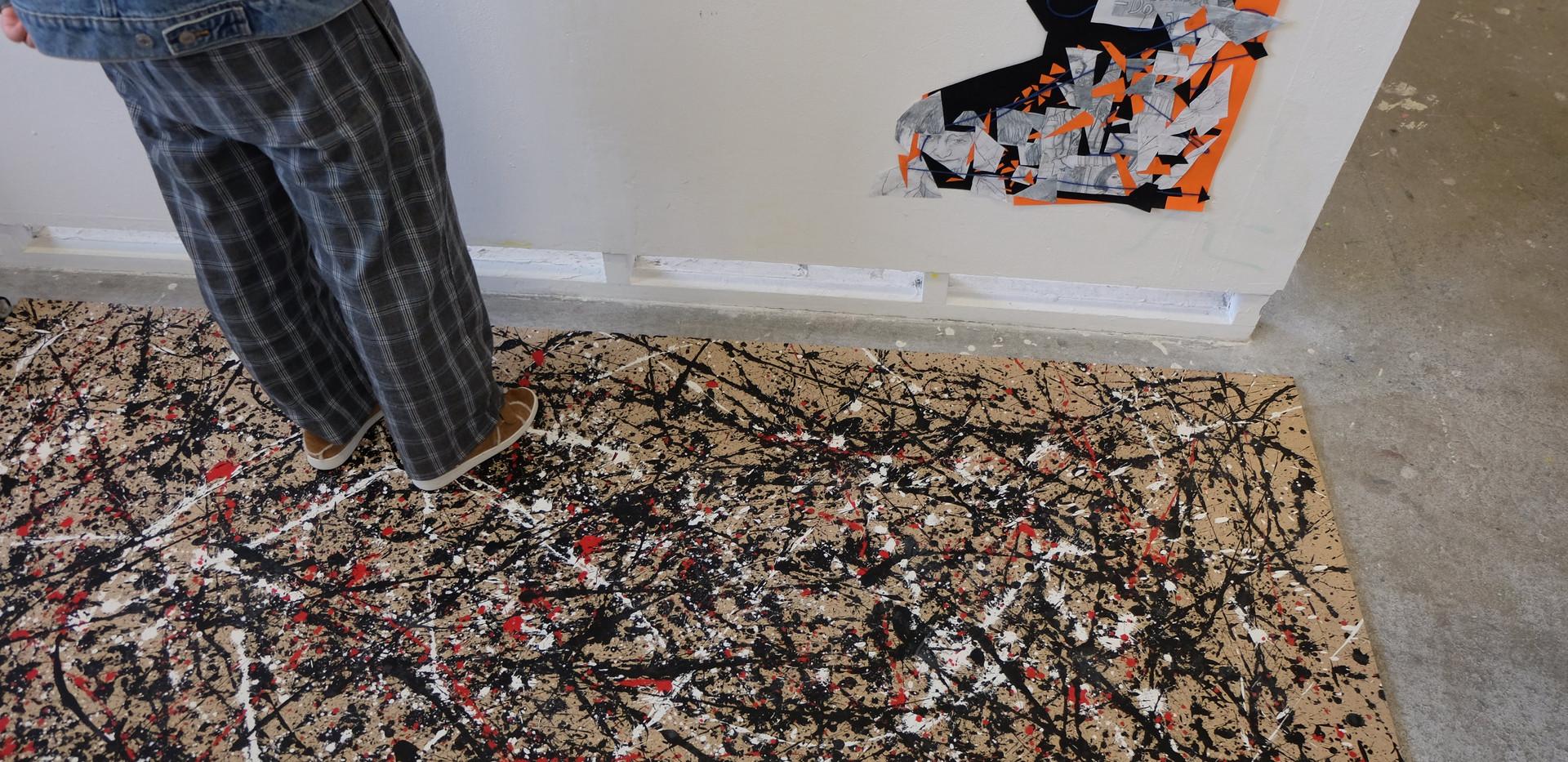 Pollock Entrance