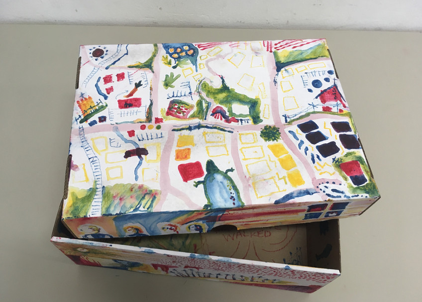 Pamela Howard Workshop Memory Box