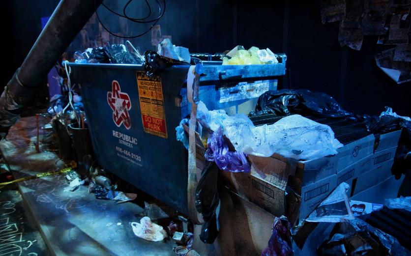 Marisol Dumpster Detail