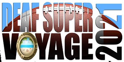 Deaf Super Voyage 2021 Small Title white