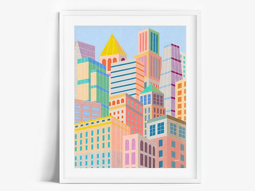 Cityscape - Limited Edition Print