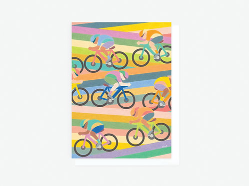 Cyclers - Greeting Card
