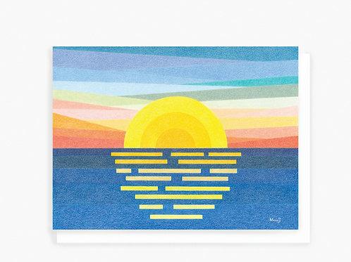 Sunrise - Greeting Card
