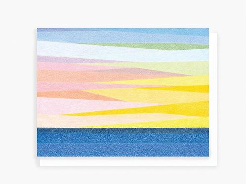 California Sunset - Greeting Card