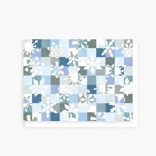 Snowflakes - Greeting Card