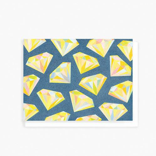 Diamonds - Greeting Card