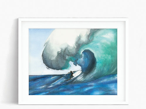 Surfing - Limited Edition Print