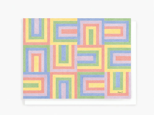Rainbow - Greeting Card