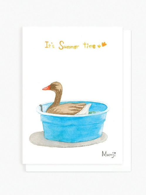 It's Summer Time - Greeting Card