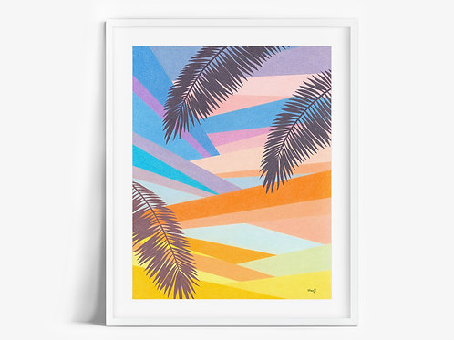 LA Sunset - Limited Edition Print