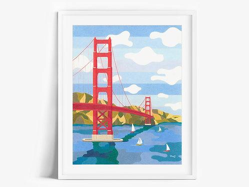 Golden Gate Bridge - Limited Edition Print