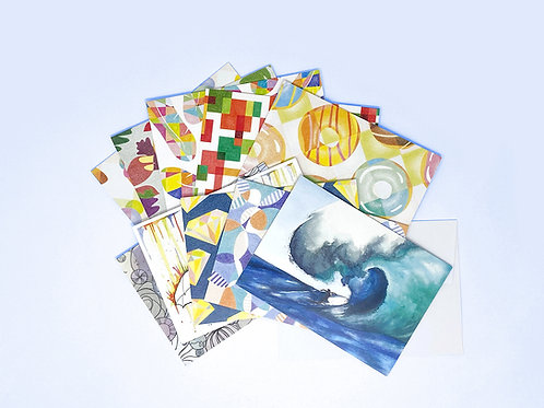 Set of 10 Assorted Cards