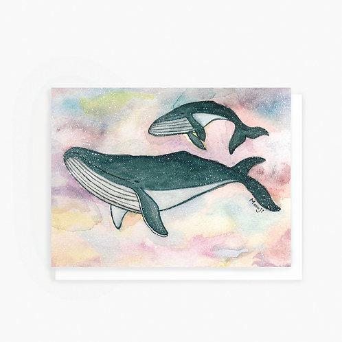 Humpback Whale - Greeting Card