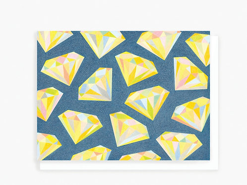 Diamonds - Greeting Card