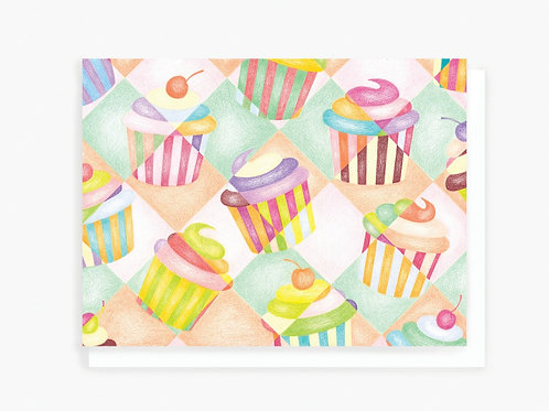 Cupcakes - Greeting Card