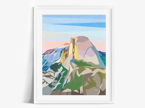 Half Dome II - Limited Edition Print
