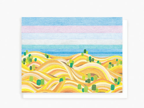 Golden Hills - Greeting Card