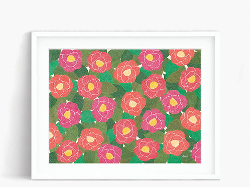 Camellia - Limited Edition Print