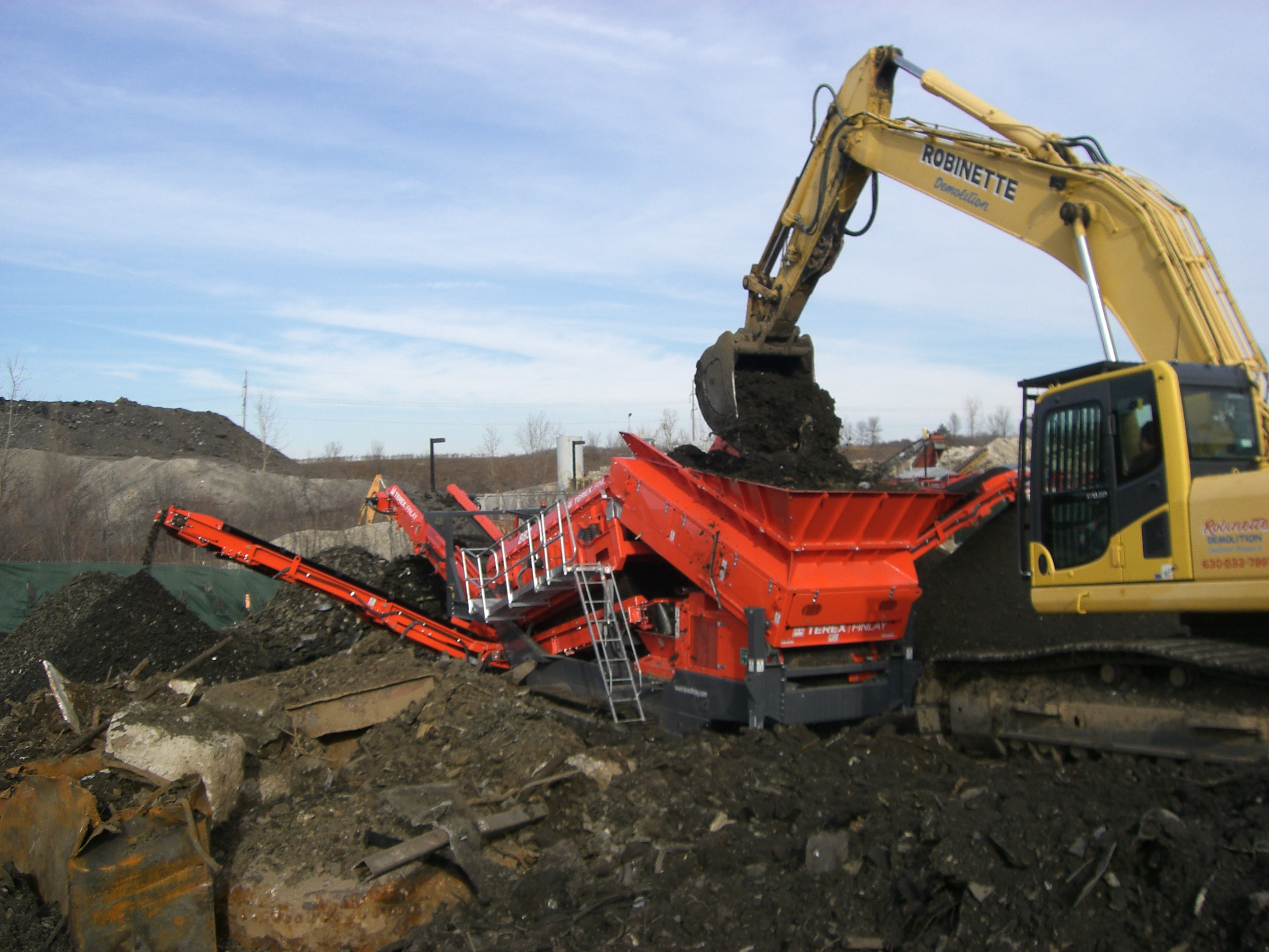 Scrap Yard Remediation