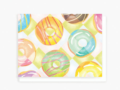 Donuts - Greeting Card