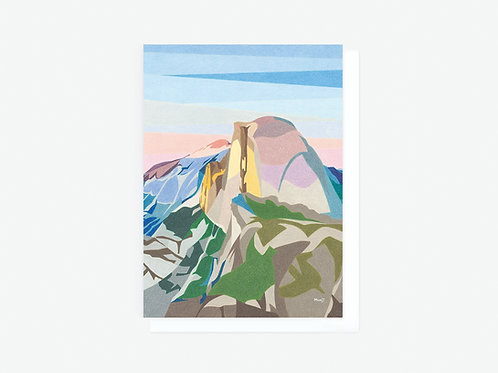 Half Dome - Greeting Card