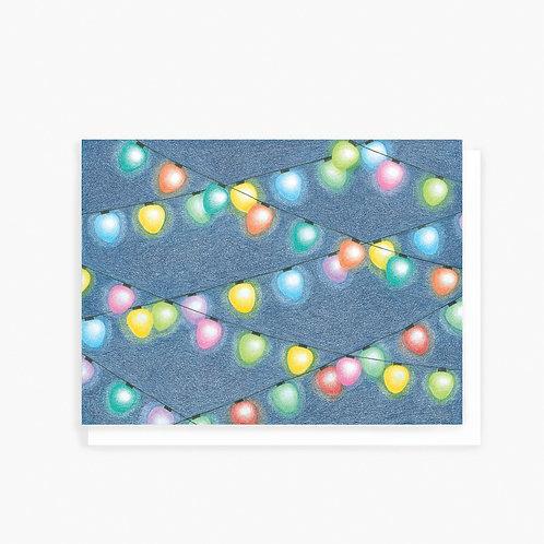 Lights - Greeting Card