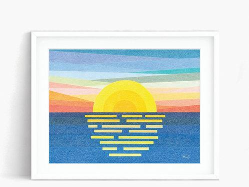 Sunrise - Limited Edition Print