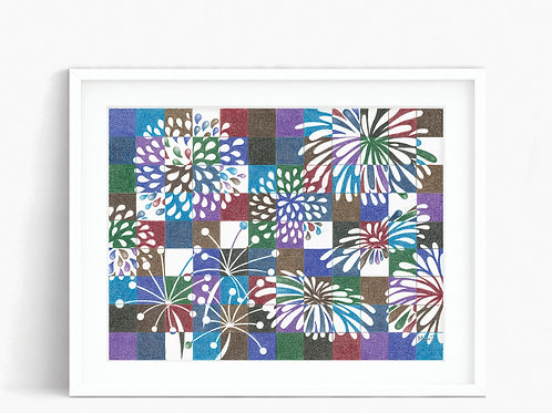 Fireworks - Limited Edition Print