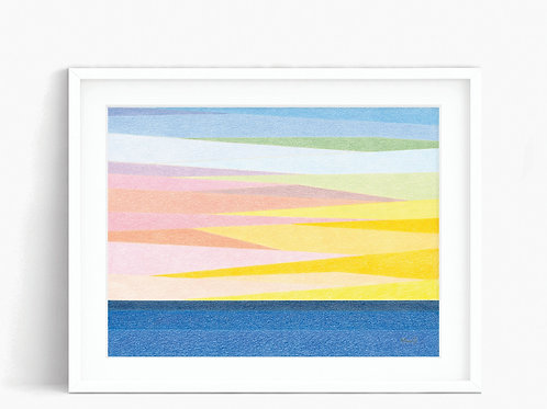 California Sunset - Limited Edition Print