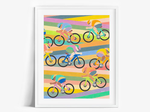 Cyclers - Limited Edition Print