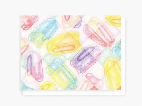 Popsicles - Greeting Card