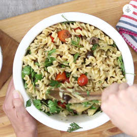 Vegan Greek Pasta Salad.mov