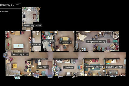 3D Virtual Tour of the Recovery Center