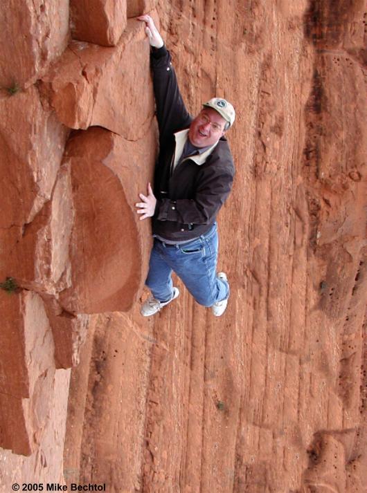 """""""Rock Climbing"""" - Pink Jeep Tour"""