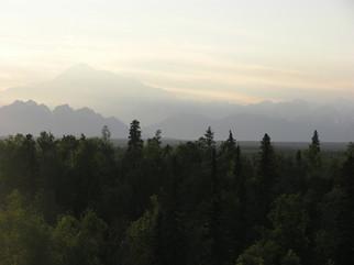 Denali From Talkeetna Alaskan Lodge Room