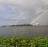 Double Rainbow Over Pearl Harbor
