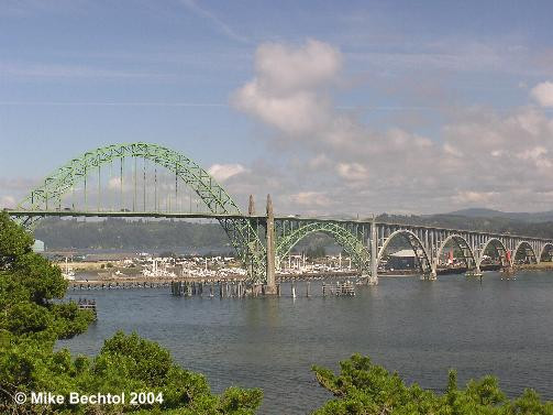 Yaquina Bay Bridge, Newport OR